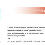 Características técnicas de 3DS