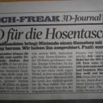 Un periodico alemán publica los posibles detalles del lanzamiento de 3DS