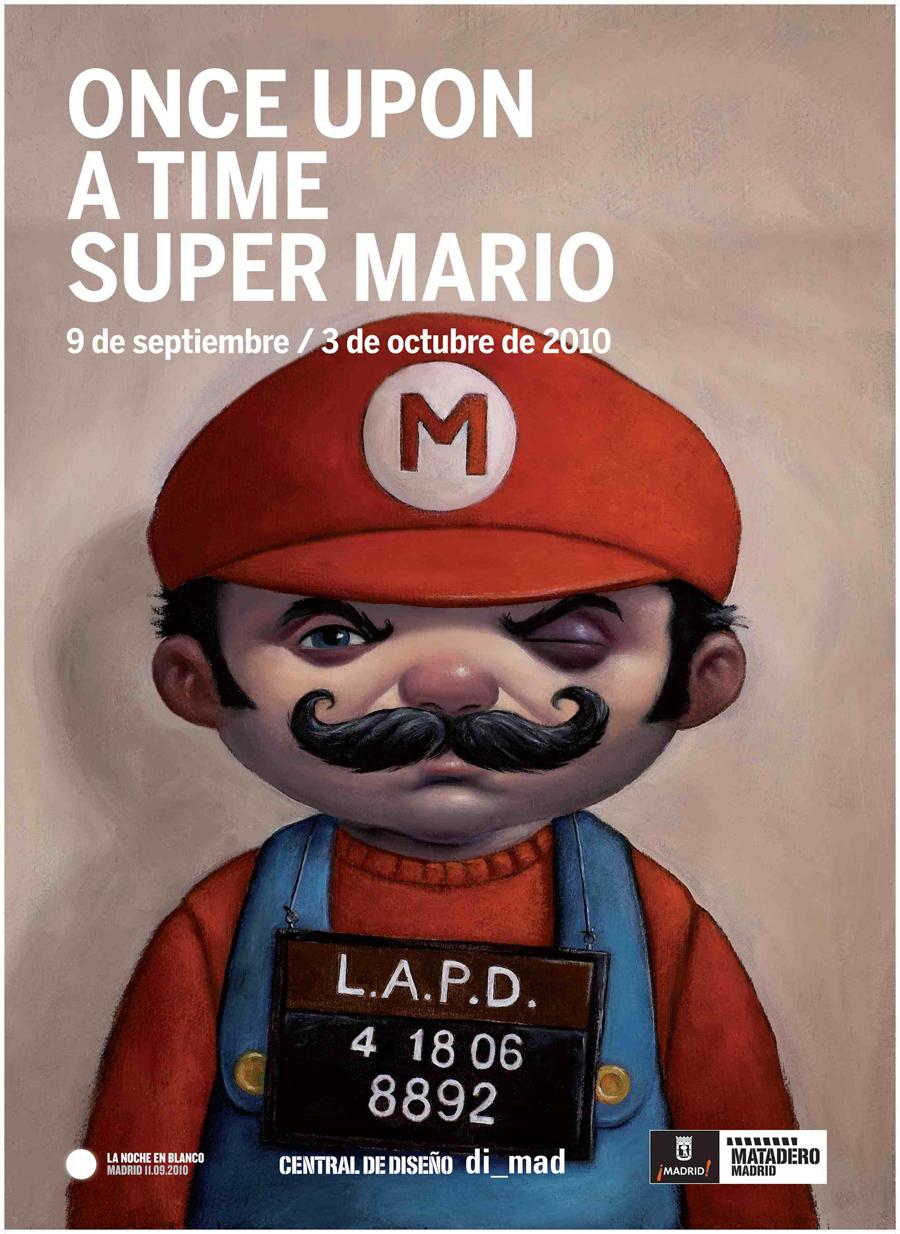 Super Mario, ¡qué arte tienes!