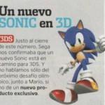 Nintendo Acción confirma un nuevo Sonic
