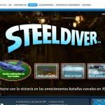 Terminada la web oficial de Steel Diver