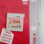 Imágenes unboxing Zelda: Ocarina of Time 3D