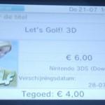 Fecha de lanzamiento Let's Golf! 3D