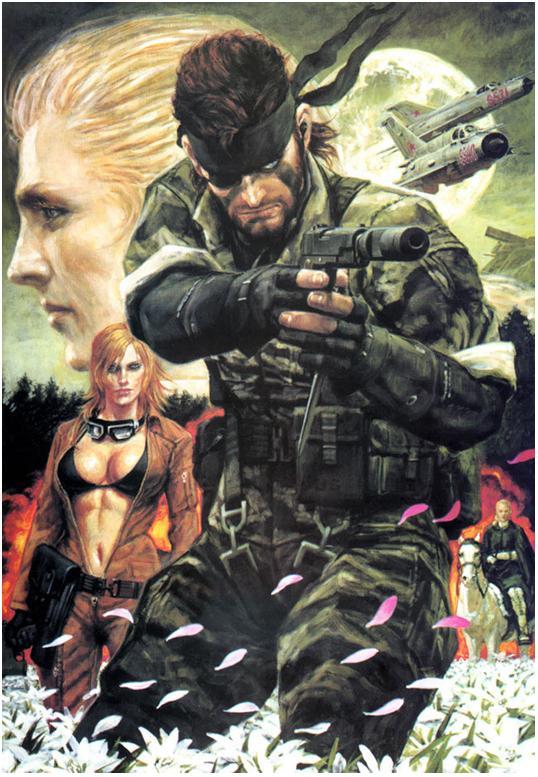 Snake Eater 3D contará con características de Peace Walker y MGS4