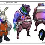 Arte Conceptual Star Fox 64 3D