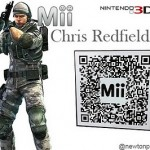 Miis de Resident Evil Revelations mediante codigos QR