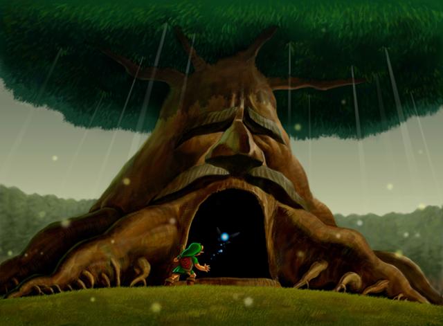 Despierta, el gran Árbol Deku quiere hablar contigo.