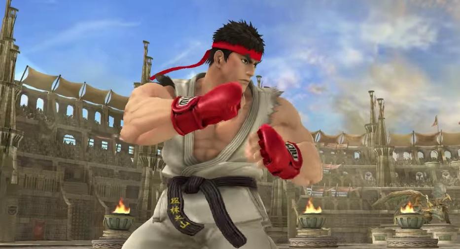 Ryu y Roy en Smash Bros!