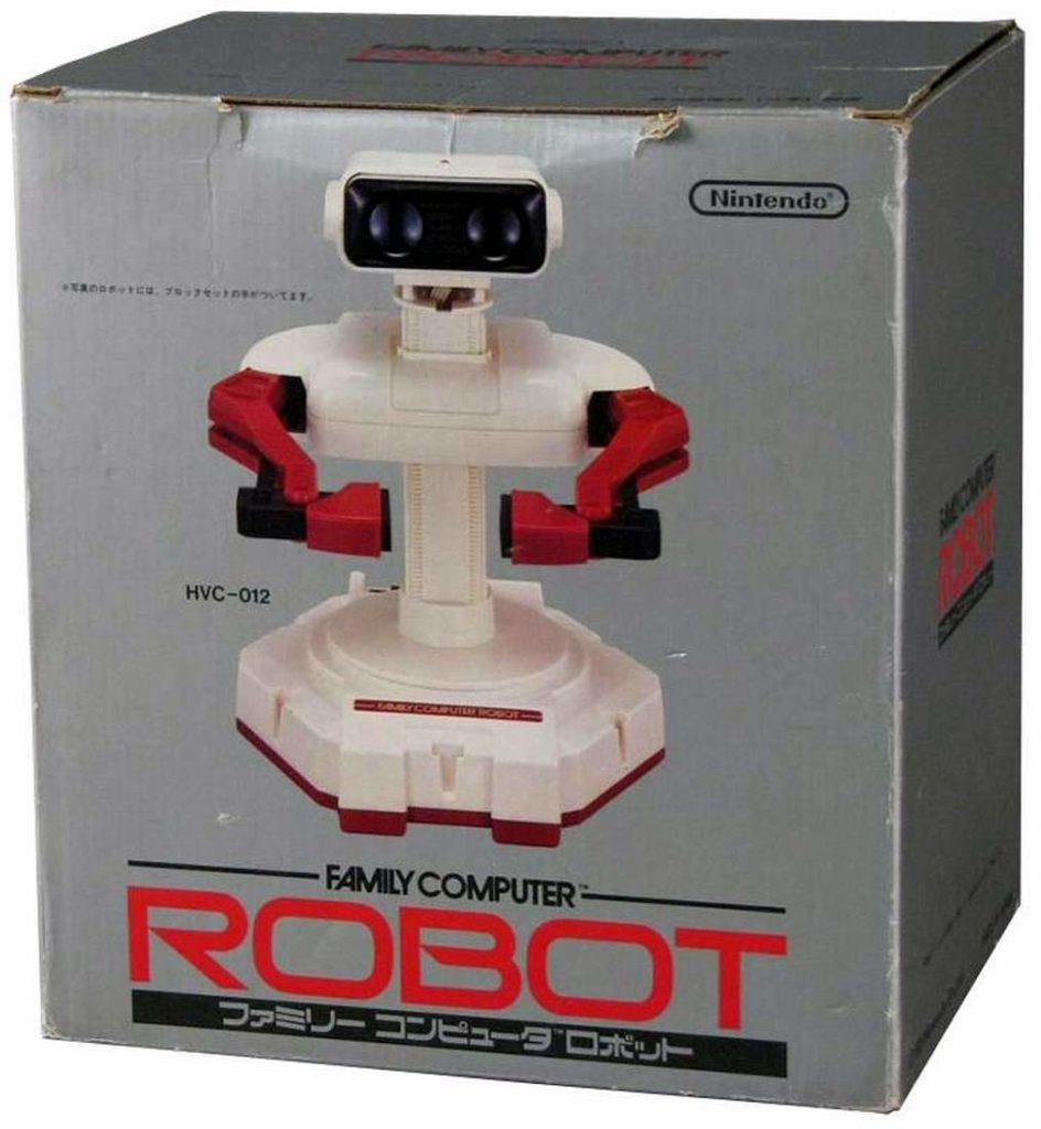 Rob llegó a las estanterías de USA junto a NES