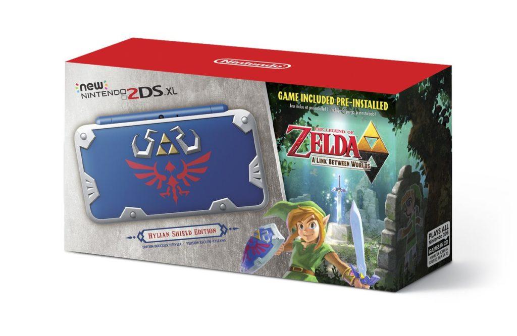 Impresionante: new Nintendo 2DS XL Escudo Hyliano