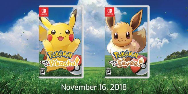 Pokémon Let's Go estará en el E3