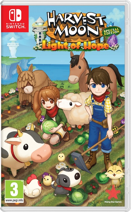 Harvest Moon: la luz de la esperanza ya a la venta