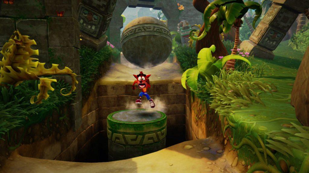 Crash Bandicoot N. Sane Trilogy se muestra en Switch