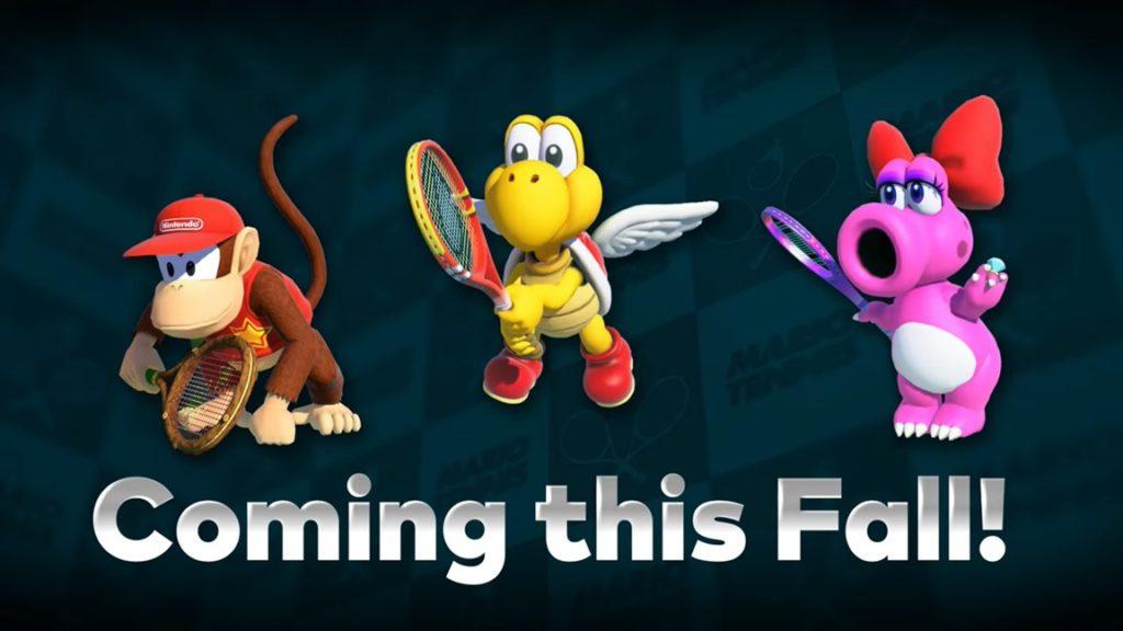 Mario Tennis Aces: ¿Quién será el siguiente en pisar la pista?