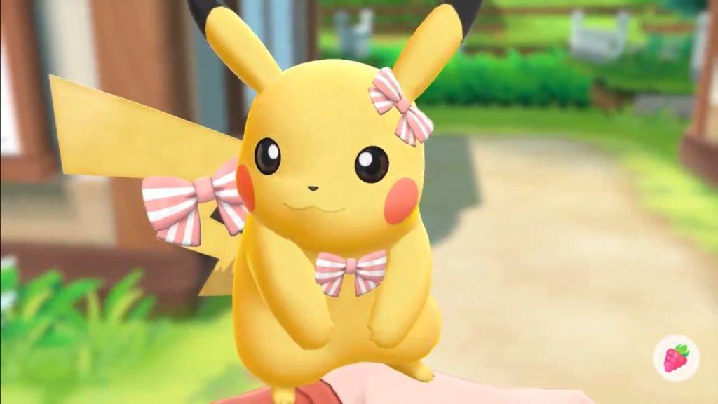 Pokémon Let's Go muestra la personalización