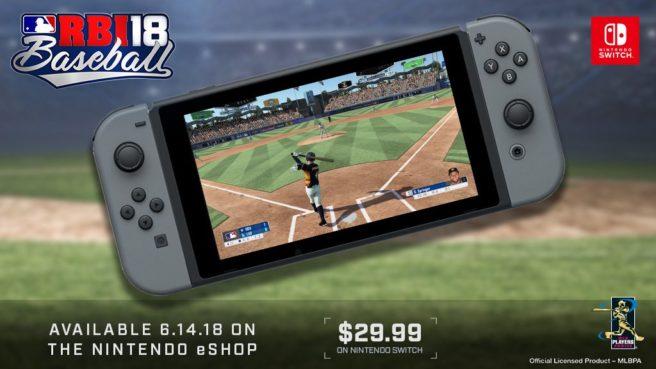 R.B.I. Baseball 18 en vídeo