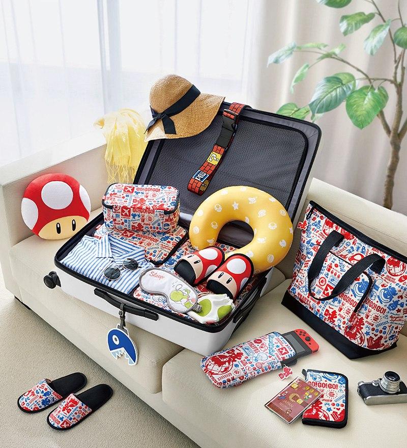 Querrás viajar con la nueva colección de merchandising de Mario