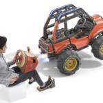 Maneja un jeep