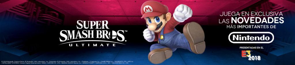 Super Smash Bros. Ultimate te espera en Málaga