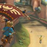 Nuevos elementos de Zelda llegan a Mario Kart 8 DX